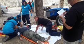Άσκηση: Στους δρόμους ασθενοφόρα γιατροί διασώστες για 6 σοβαρά περιστατικά