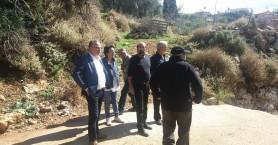Περιοδεία Βαγιωνάκη, Μπαλωμενάκη σε πληγείσες από την κακοκαιρία περιοχές