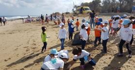 Με επιτυχία ο εθελοντικός καθαρισμός στην παραλία του Ανισσαρά Χερσονήσου