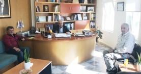Ο Γιάννης Λεμπιδάκης στον Δήμο Μαλεβιζίου