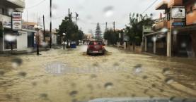 Η υπόσχεση του Σκουρλέτη για τις καταστροφές στο Δήμο Πλατανιά