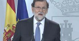Ραχόι: Η κυβέρνηση της Καταλονίας θα καθαιρεθεί άμεσα, νέες εκλογές 21/12