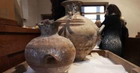 Επαναπατρίζονται στην Κρήτη 26 αρχαία αντικείμενα από την Αυστρία