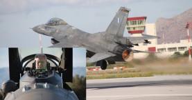 Με F16 Block 52+ της 115 ΠΜ πέταξε απο τα Χανιά ο Αρχηγός ΓΕΑ (φωτο)