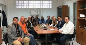 Στο δήμαρχο Χερσονήσου και τη ΣΕΒΠΗ ο Μηνάς Μελισσείδης