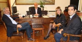 Συνάντηση Τ.Βάμβουκα με τον Γιάννη Μανιάτη