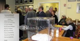 Ομαλά η ψηφοφορία για την κεντροαριστερά στα Χανιά (φωτο)