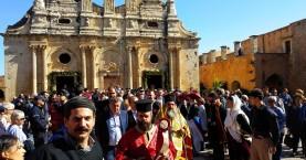 Ο εορτασμός της 151ης επετείου του ολοκαυτώματος Μονής Αρκαδίου