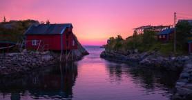 Η μικρή νορβηγική πόλη με το μοναδικό φυσικό φαινόμενο