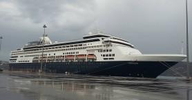 Πολυτελές κρουαζιερόπλοιο για πρώτη φορά στα Χανιά