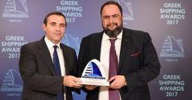 Ο Ευ.Μαρινάκης Προσωπικότητα της Χρονιάς στην Ελληνική Ναυτιλία