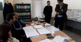 Στο εκλογικό κέντρο Αρκαλοχωρίου ο Μ. Μελισσείδης