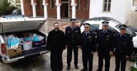 Προσφορά ειδών πρώτης ανάγκης, από την αστυνομία της Κρήτης