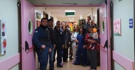 Την παιδιατρική του Βενιζελείου επισκέφθηκε η Ένωση Αστυνομικών Ηρακλείου