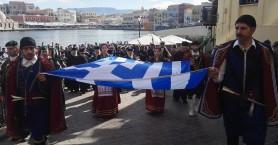 Με λαμπρότητα οι εκδηλώσεις για την Ένωση της Κρήτης με την Ελλάδα (φωτό)