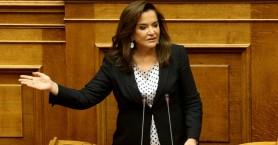 Μπακογιάννη: Δεν θα κυριαρχήσει η λογική ότι τα νησιά μας δεν έχουν υφαλοκρηπίδα