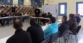 Επίσκεψη Αεράκη, Βαλτινού, Βαφειάδου στο 2ο ΣΔΕ των φυλακών Αγιάς