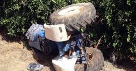 Τραγωδία  - Αγρότης βρέθηκε νεκρός κάτω από το τρακτέρ του