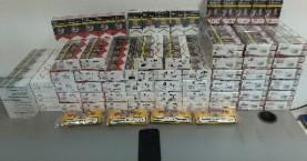 Πάνω από 500 πακέτα λαθραίων τσιγάρων κατασχέθηκαν στο Ηράκλειο