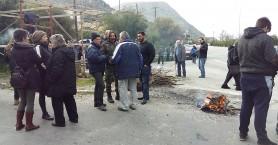 Στους δρόμους οι αγρότες και στη δυτική Κρήτη