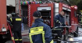 Φωτιά σε σπίτι στον Αλικιανό ενώ οι ένοικοι βρίσκονταν μέσα