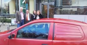 Η Τράπεζα Χανίων δώρισε όχημα στην Κοινωφελή Επιχείρηση Δ.Αποκορώνου
