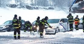 Ισπανία:Διασώθηκαν χιλιάδες οδηγοί που εγκλωβίστηκαν εξαιτίας χιονοθύελλας