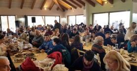 Πλήθος κόσμου στα 5α χοιροσφάγια στο Βοτανικό Πάρκο Κρήτης