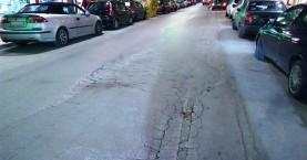 Κλείνει την Τρίτη τμήμα της οδού Ταξιάρχου Μαρκοπούλου