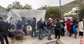Για 10η ημέρα αγρότες στο μπλόκο στα Μεγάλα Χωράφια