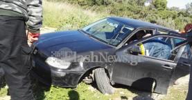 Χανιά: Γυναίκα έχασε τον έλεγχο του αυτοκινήτου και τραυματίστηκε