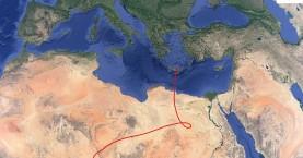 Έντονο και την Τετάρτη το φαινόμενο της αφρικάνικης σκόνης στην Κρήτη