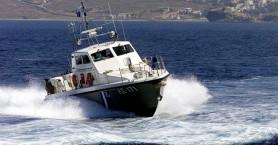 Επιχείρηση μεταφοράς ασθενούς από τη Γαύδο με σκάφος του Λιμενικού