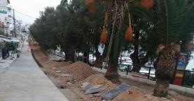 Συγκέντρωση κατοίκων Νέας Χώρας για τα έργα στην ακτή Παπανικολή