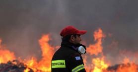 Μικρής έκτασης φωτιές σε Ασκύφου και Ηράκλειο