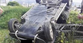 Χανιά: Σύγκρουση αυτοκινήτων στα Λιβάδια - Στο νοσοκομείο ένας οδηγός