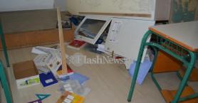 Απίστευτοι βανδαλισμοί σε Γυμνάσιο στα Χανιά (φωτο)