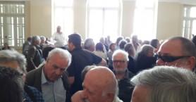 Ένταση στα δικαστήρια για τις απαλλοτριώσεις στο Καστέλι (φωτο)