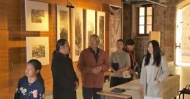 Άνοιξε για το κοινό η έκθεση του Κινέζου ζωγράφου Wang Zuoqian στα Χανιά