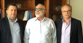 Οι ναυαγοσώστες σε συνάντηση Μαλανδράκη - Μαστοράκη με Κουρουμπλή