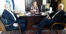 Συνάντηση για σημαντικά θέματα που αφορούν τον Δήμο Βιάννου
