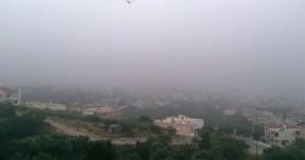 Ορατότητα...μηδεν στην Βόρεια Κρήτη απο την ομίχλη (φωτο)