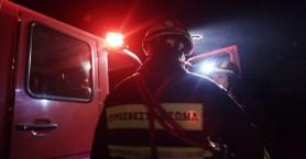 Αποθήκη σπιτιού έγινε παρανάλωμα του πυρός