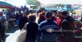 Το αδιαχώρητο στις Βουκολιές για το παζάρι - σύμβολο του Πάσχα στα Χανιά