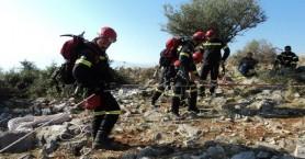 Επιχείρηση διάσωσης τραυματισμένης γυναίκας στο Φαράγγι της Ίμπρου