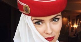 Αυτή είναι η πιο όμορφη αεροσυνοδός της Emirates!
