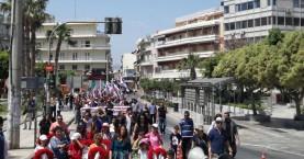 Η πρωτομαγιάτικη συγκέντρωση του ΠΑΜΕ στο Ηράκλειο