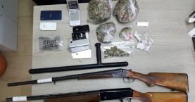 Χειροπέδες σε 31χρονο για ναρκωτικά και όπλα (φωτο)
