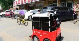 Ρομπότ… ντελιβεράδες στους δρόμους του Πεκίνου