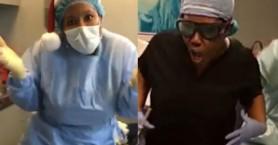 Αμερικανίδα γιατρός... ράπαρε και γύριζε βίντεο κλιπ την ώρα του χειρουργεί